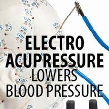 Acupressure lowers high blood pressure